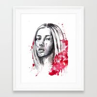 asia Framed Art Prints featuring asia by Lua Fraga