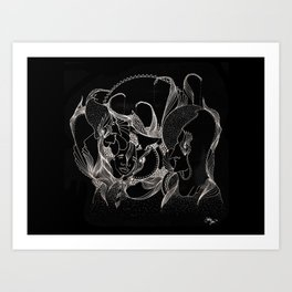 Legendary Influence Art Print