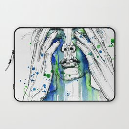 Don't fight my tears 'cause they feel so good. Laptop Sleeve