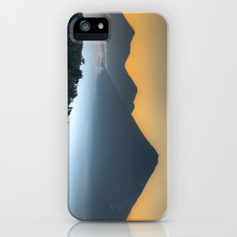 Volcanic Sunset iPhone Case