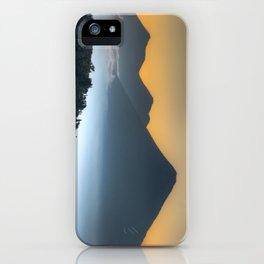 Volcanic Sunset iPhone Case