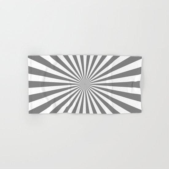 Starburst (Gray/White) Hand & Bath Towel