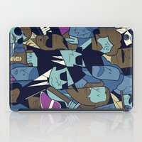 blues brothers iPad Cases featuring The Blues Brothers by Ale Giorgini