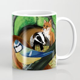 Of foxes and badgers Coffee Mug