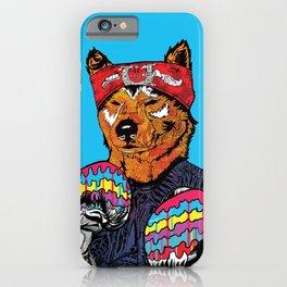 Shiba - The Hustler iPhone Case