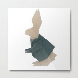 The Rab origami Metal Print
