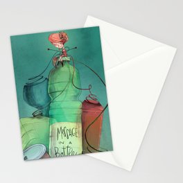 Plastic recycling Stationery Cards
