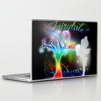 fairytale Laptop & iPad Skins featuring Fairytale by Augustinet