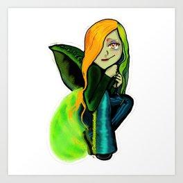 Mrs. firefly... Art Print