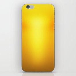 Hot Orange iPhone Skin