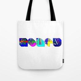 Honey tipography design Tote Bag