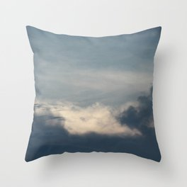 Seven | sky photography Throw Pillow