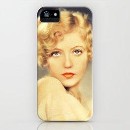Marion Davies, Vintage Movie Star iPhone Case