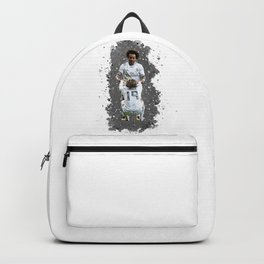 Watercolor Marcelo and modric Backpack