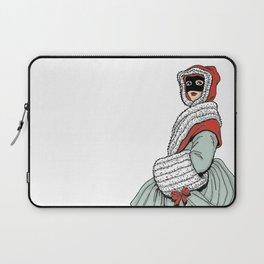 Masked Girl Laptop Sleeve