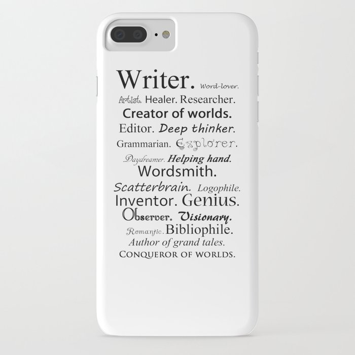 writer iphone case