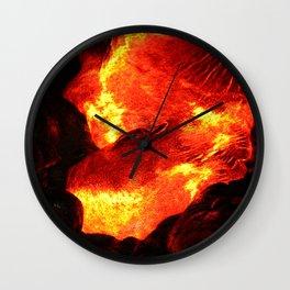 Lava Passion Wall Clock