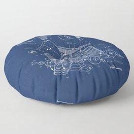 Trojan Rabbit Floor Pillow