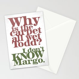 Todd and Margo Stationery Cards