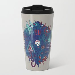 Die of Death Travel Mug