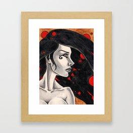 Death and Design Framed Art Print