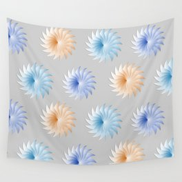 Pinwheels Three Wall Tapestry