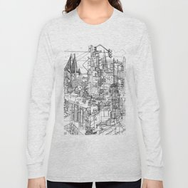 San Francisco! (B&W) Long Sleeve T-shirt