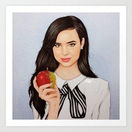 Sofia Carson Art Print
