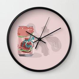 La Croix Illustration Wall Clock