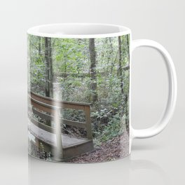 Bridge in the Woods Coffee Mug