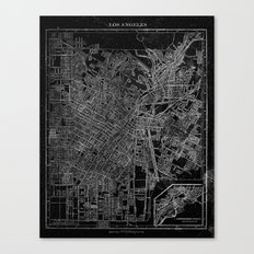 Los Angeles, California, Circa 1908. Canvas Print