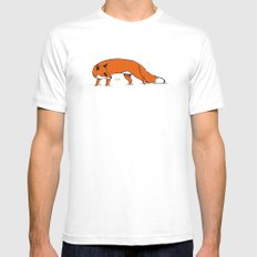 Sly Fox White Mens Fitted Tee MEDIUM