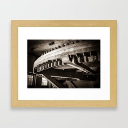 Inside a mill (Bourtange The Netherlands, Groningen) Framed Art Print