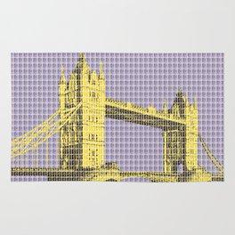 Tower Bridge - Violet Rug
