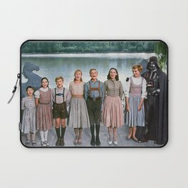 Darth Vader in The Sound of Music Laptop Sleeve