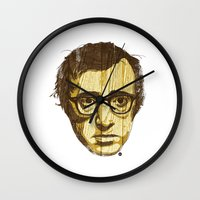 woody Wall Clocks featuring Woody by Ross Zietz