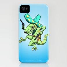 Kill the Robot Duplicates! iPhone (4, 4s) Slim Case