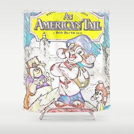 An American Tail Shower Curtain