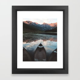 Piney Lake Framed Art Print