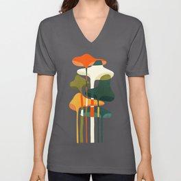 Little mushroom Unisex V-Ausschnitt