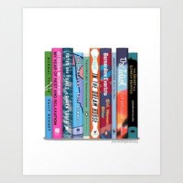 Bookstack No. 23 Art Print