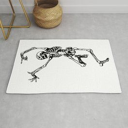 Dancing Skeleton | Day of the Dead | Dia de los Muertos | Skulls and Skeletons | Rug