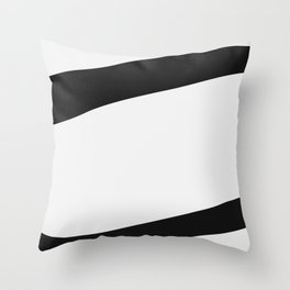 Under Lines Throw Pillow