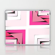 Pink Corners Laptop & iPad Skin