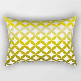 Abstract geometric pattern autumn colours Rectangular Pillow
