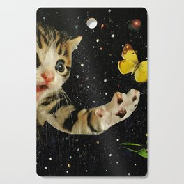 All Across the Universe Chasing Butterflies and Dreams Cutting Board