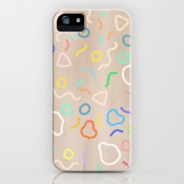 Confetti Party iPhone Case