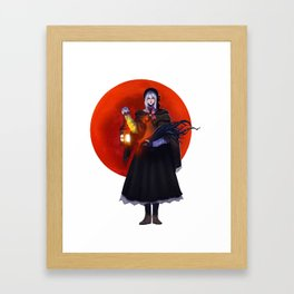 bloodmoon Framed Art Print