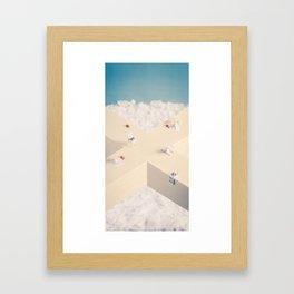 Mild Confusion Framed Art Print