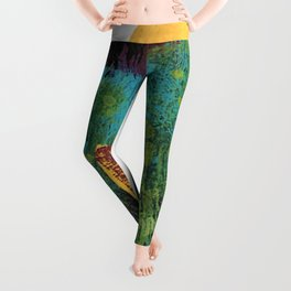 Yellow Moon Leggings